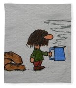 Java Fleece Blanket