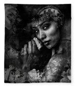 Jazmine Fleece Blanket