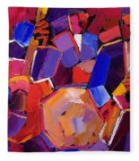 Jazz Angles Two Fleece Blanket