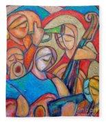 Jazz Ballad Fleece Blanket