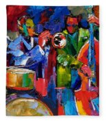 Jazz Beat Fleece Blanket
