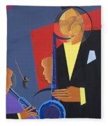 Jazz Sharp Fleece Blanket