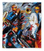 Jazz Unit Fleece Blanket