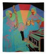 Jazzamatazz Band Fleece Blanket