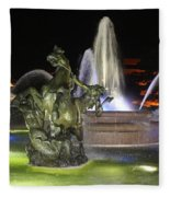 J.c. Nichols Fountain-4981 Fleece Blanket