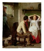 Jealousy And Flirtation Fleece Blanket