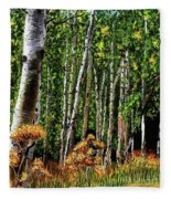 Jebediah Smith Wilderness Walk 2016 Fleece Blanket