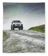 Jeep Fleece Blanket