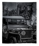Jeep Fleece Blanket