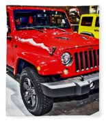 Jeep Wrangler X Fleece Blanket