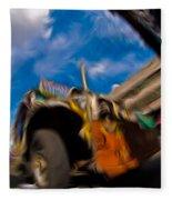 Jeepney 62932501 Fleece Blanket