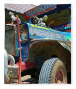 Jeepney Fleece Blanket