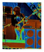 Live In Oakland 1976 Fleece Blanket