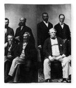 Jefferson Davis Trial Fleece Blanket