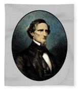 Jefferson Davis Fleece Blanket