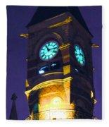 Jefferson Market Clock Tower Fleece Blanket