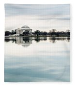 Jefferson Memorial And Tidal Basin Fleece Blanket