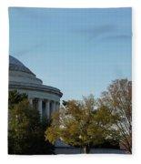 Jefferson Memorial Fleece Blanket