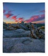 Jeffrey Pine Dawn Fleece Blanket