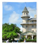 Jekyl Island Living Fleece Blanket