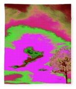 Jelks Pine 10 Fleece Blanket