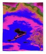 Jelks Pine 14 Fleece Blanket