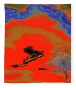 Jelks Pine 16 Fleece Blanket