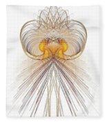 Jelly Fish Art Fleece Blanket