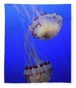 Jellyfish 1 Fleece Blanket