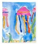 Jellyfish Fleece Blanket