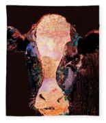 Jemima The Cow Fleece Blanket