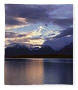 Jenny Lake, Grand Teton National Park Fleece Blanket
