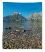 Jenny Lake Fleece Blanket