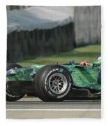 Jenson Button, Honda Ra107  Fleece Blanket