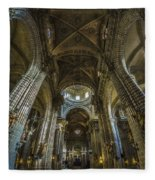 Jerez De La Frontera Cathedral Cadiz Spain Fleece Blanket