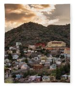 Jerome - America's Most Vertical City Fleece Blanket