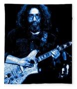Jerry At Winterland 5 Fleece Blanket