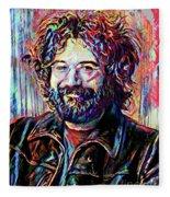 Jerry Garcia Art - The Grateful Dead Fleece Blanket