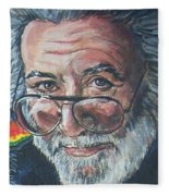 Jerry Garcia Fleece Blanket