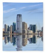 Jersey City Fleece Blanket