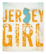Jersey Girl Fleece Blanket