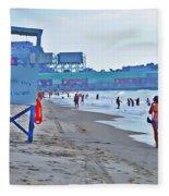 Jersey Shore - Atlantic City Fleece Blanket
