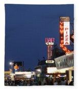 Jersey Shore Board Walk Fleece Blanket