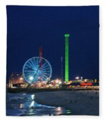 Jersey Shore Fleece Blanket
