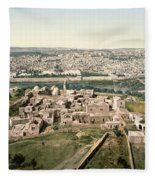 Jerusalem, C1900 Fleece Blanket