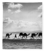 Jerusalem: Caravan, C1918 Fleece Blanket