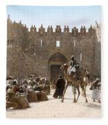 Jerusalem: Caravan, C1919 Fleece Blanket