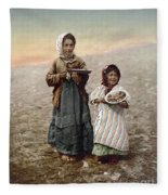Jerusalem Girls, C1900 Fleece Blanket