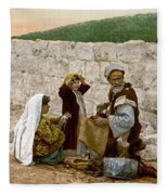 Jerusalem Shoemaker, C1900 Fleece Blanket