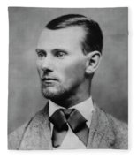 Jesse James -- American Outlaw Fleece Blanket